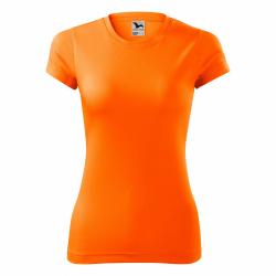 Obrázek Dámské Tričko se jménem - neonově oranžové, vel. XS
