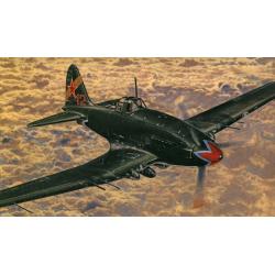Obrázek Model Iljušin II-10/aVIA B-33 15,5x18,5cm