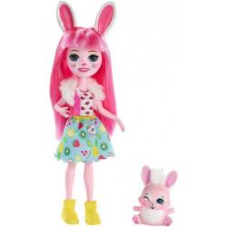 Obrázek Enchantimals Panenka se zvířátkem - Bree Bunny a Twist FXM73