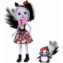 Obrázek Enchantimals Panenka se zvířátkem - Sage Skunk a Caper FXM72