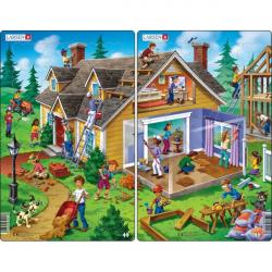 Obrázek Puzzle Dům 30 dílků
