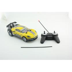 Obrázek RC auto 1:18 závoďák žlutý