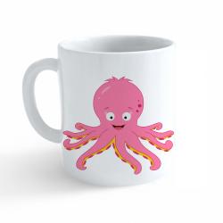 Obrázek Hrnek Veselá zvířátka - Chobotnička