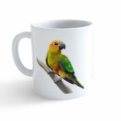 Obrázek Hrnek Malovaná zvířátka - Papoušek