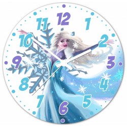 Obrázek Nástenné hodiny Rozprávky - Ľadová princezná - 30 cm