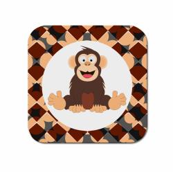 Obrázek Podtácek Veselá zvířátka - Šimpanz