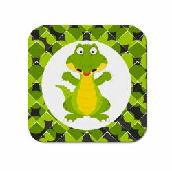 Obrázek Podtácek Veselá zvířátka - Krokodýl