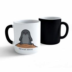 Obrázek Meniace hrnček Tučniak a jeho kamaráti - # 22 krtko obyčajný