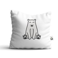 Obrázek Polštář Tučňák a jeho kamarádi - #13 medvěd lední