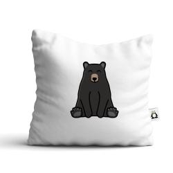 Obrázek Polštář Tučňák a jeho kamarádi - #18 medvěd baribal