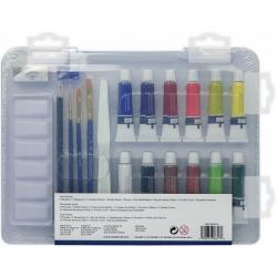 Obrázek ROYAL and LANGNICKEL Akrylové barvy v plastovém boxu