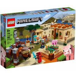 Obrázek LEGO<sup><small>®</small></sup> Minecraft 21160 - Útok Illagerů