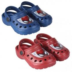 Obrázek Plážové Clogs Spiderman modrá/červená