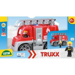 Obrázek Autá Truxx hasiči v krabici