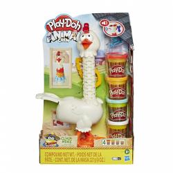 Obrázek Play-Doh kvokající kuře s peřím