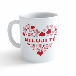 Obrázek Hrnček Valentín - Milujem Ťa