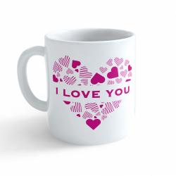 Obrázek Hrnek Valentýn - I Love You #3