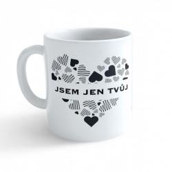 Obrázek Hrnek Valentýn - Jsem jen tvůj #2