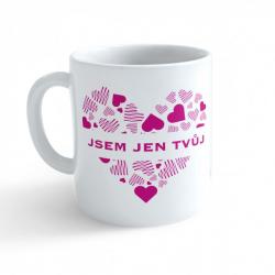 Obrázek Hrnek Valentýn - Jsem jen tvůj #3