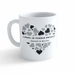 Obrázek Hrnek Valentýn - Láska je poezie smyslů #2