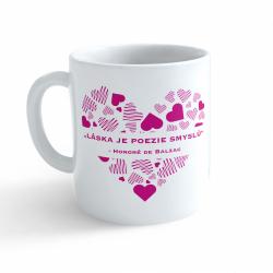 Obrázek Hrnek Valentýn - Láska je poezie smyslů #3
