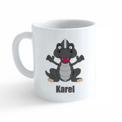 Obrázek Hrnek Dinosaurus se jménem - Karel
