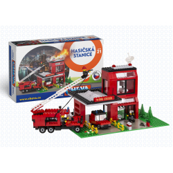 Obrázek Cheva 21 - Požární stanice - krabice