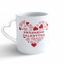 Obrázek Hrnek Valentýn - Krásného Valentýna - srdce/ucho