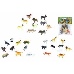 Obrázek zvířata divoká, 10 ks v sáčku, 3 druhy