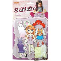 Obrázek Oblékání- panenka brunetka