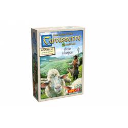 Obrázek Carcassonne - rozšíření 9 (Ovce a kopce)