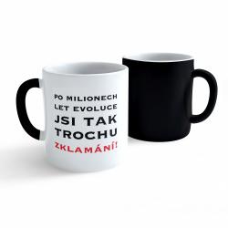 Obrázek Měnící hrnek Vtipný - Evoluce