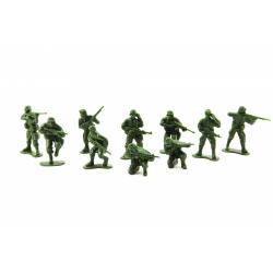 Obrázek Sada vojáci plast CZ design na kartě 11,5x17cm