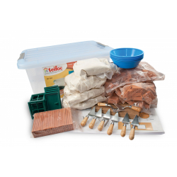 Obrázek Stavebnice Teifoc School Set v plastovém boxu