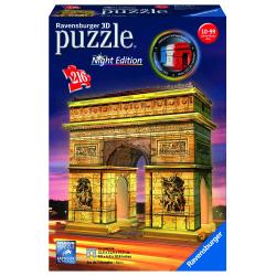 Obrázek Puzzle 3D Víťazný oblúk (Nočná edícia) 3D 216 dielikov