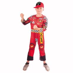 Obrázek Dětský kostým závodník (M)