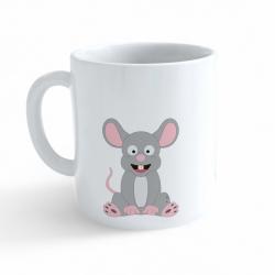 Obrázek Hrnek Veselá zvířátka - Myška