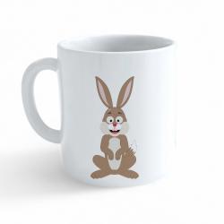 Obrázek Hrnek Veselá zvířátka - Zajíček