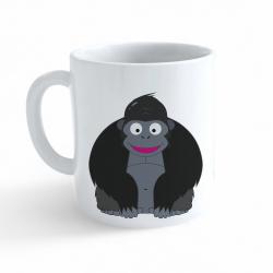 Obrázek Hrnek Veselá zvířátka - Gorila