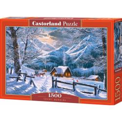Obrázek Puzzle Castorland 1500 dílků - Zasněžené ráno