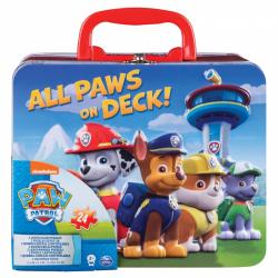 Obrázek Paw Patrol Puzzle V Plechovém Kufříku
