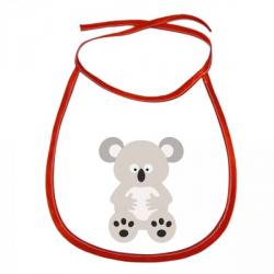 Obrázek Dětský bryndák Veselá zvířátka - Koala - červený