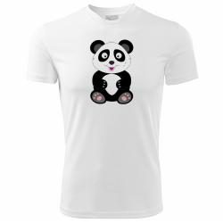 Obrázek Tričko Veselá zvířátka - Panda, vel. 146 cm/10 let