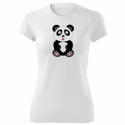 Obrázek Dámské Tričko Veselá zvířátka - Panda, vel. S
