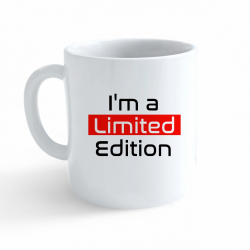 Obrázek Hrnek Funny - I am a Limited Edition