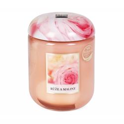 Obrázek ALBI Velká svíčka - Růže a maliny