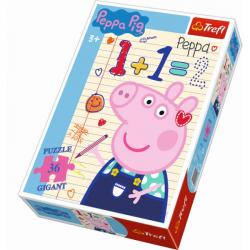 Obrázek Puzzle Gigant 36 dílků Prasátko Peppa