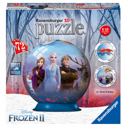 Obrázek Puzzle Disney Ledové království 2 72 dílků