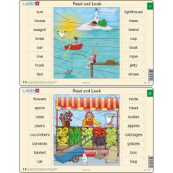 Obrázek Puzzle Angličtina - slovíčka RA1 16 dílků