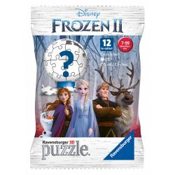 Obrázek Puzzle Ľadové kráľovstvo 2 vrecúško s prekvapením položka (12ks / D) 27 dielikov